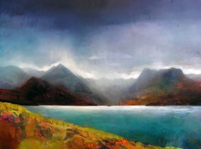 Owen HENDERSON - April Showers over Loch Coruisk