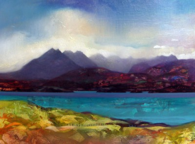 Scottish Artist Owen HENDERSON - Summer Seas