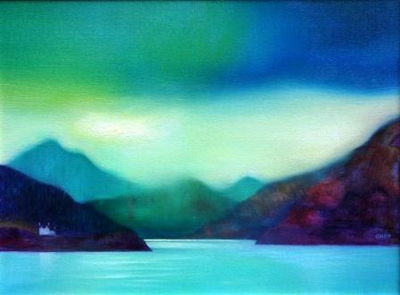 Scottish Artist Owen HENDERSON - Still Day on Harris