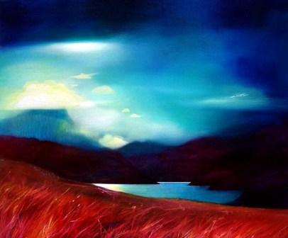 Scottish Artist Owen HENDERSON - Shift of Seasons, Ben Hope