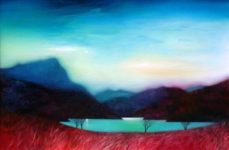 Scottish Artist Owen HENDERSON - Loch Hope