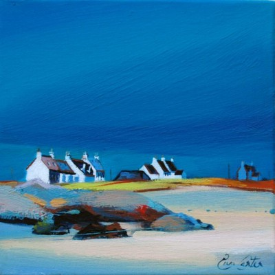 Scottish Artist Pam CARTER - Coastal Cluster