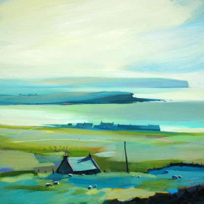 Scottish Artist Pam CARTER - In the Distant Haze