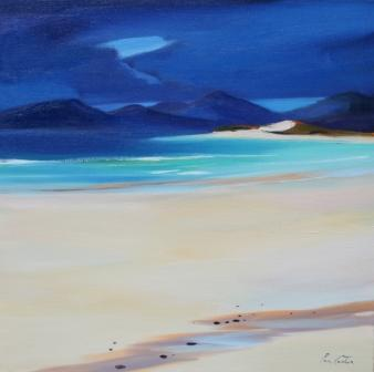 Scottish Artist Pam CARTER - Harris Dunes