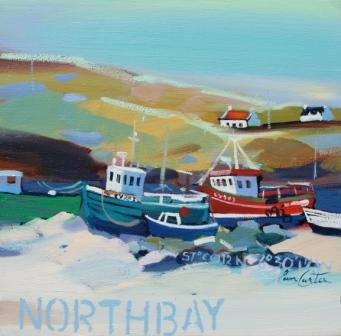 Scottish Artist Pam CARTER - North Bay, Barra