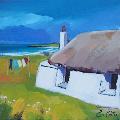 Pam CARTER - White Washed Thatch