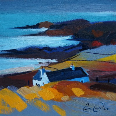 Scottish Artist Pam CARTER - Over the Bays