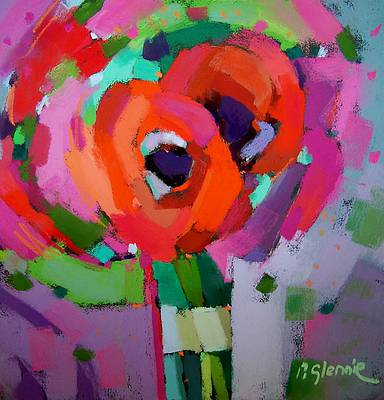 Pam GLENNIE - Blooming Reds