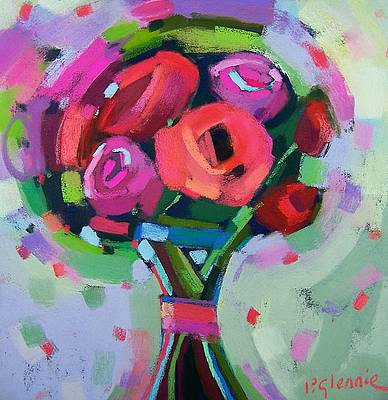 Scottish Artist Pam GLENNIE - Hand Tied Roses