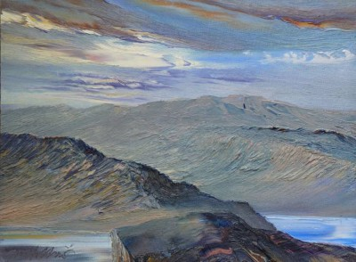 Scottish Artist Peter GOODFELLOW - Loch Nevis