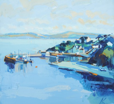 Scottish Artist Peter KING - Carradale Mull of Kintyre