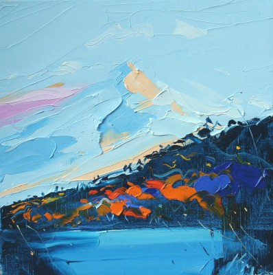Scottish Artist Peter KING - The Waning Light 1