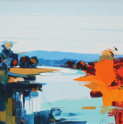Peter KING - Autumn on the Tay