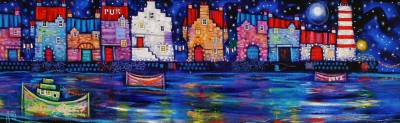 Scottish Artist Ritchie COLLINS - Love Harbour Blues