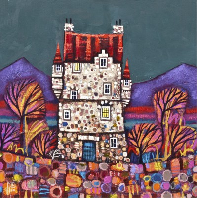 Highland Hoose  painting by artist Ritchie COLLINS
