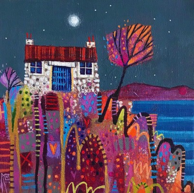 Scottish Artist Ritchie COLLINS - Skye Hoose