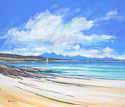 Scottish Artist Robert KELSEY - Paps of Jura
