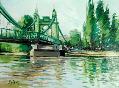 Robert KELSEY - The Thames at Hammersmith