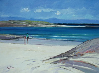 Summer Morning, Iona painting by artist Robert KELSEY