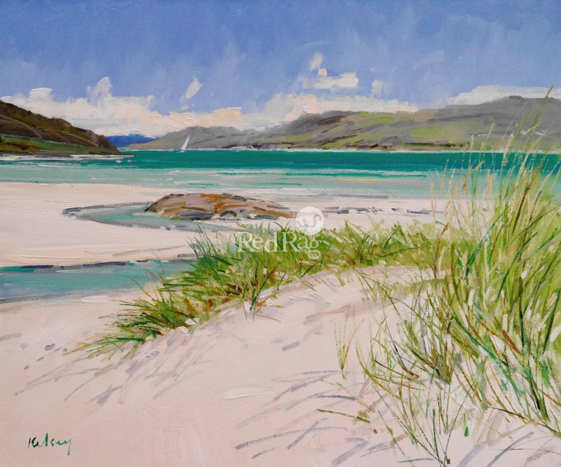 Robert KELSEY - Beach Grass at Morar