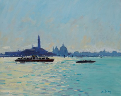Scottish Artist Robert KELSEY - Into the Light, Venice