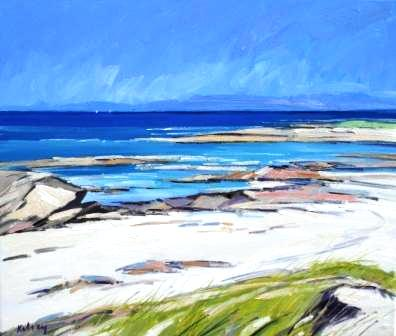 Robert KELSEY - The Isle of Mull from Iona
