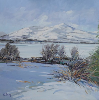 Scottish Artist Robert KELSEY - Winter Landscape Ardgour