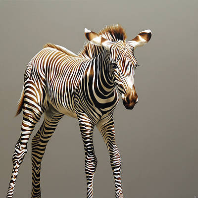 Scottish Artist Robina YASMIN - Fine Stripes