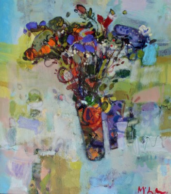 Scottish Artist Rory McLAUCHLAN  - Wild Flower Pick