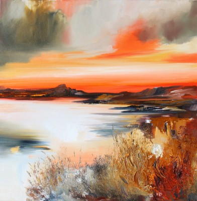 Rosanne BARR - Dramatic Sunset