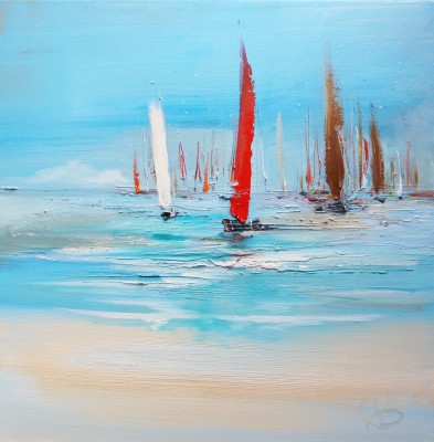 Rosanne BARR - Yachts on a Summer Day