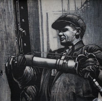 Scottish Artist Ryan MUTTER - The Riveter