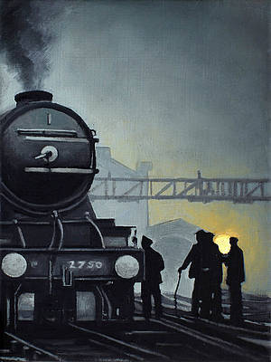 Scottish Artist Ryan MUTTER - The Railway Men