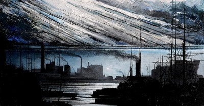 Scottish Artist Ryan MUTTER - Days of Coal and Steel