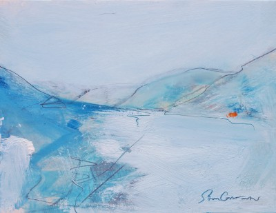 Scottish Artist Sam CARTMAN - Closing In, Dalveen