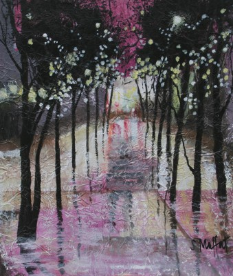 Scottish Artist Sandra MOFFAT - Light Reflected