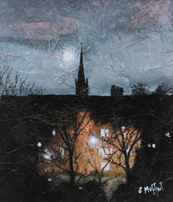 Scottish Artist Sandra MOFFAT - Full Moon