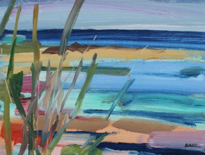 Scottish Artist Shona BARR - Beach Grasses