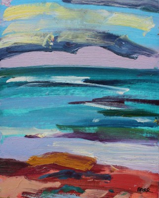 Scottish Artist Shona BARR - Lunan Bay