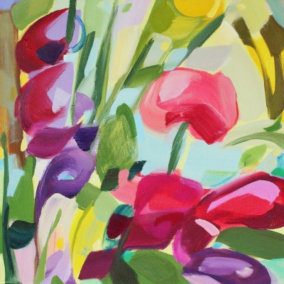 Scottish Artist Shona BARR - Little Sweet Peas