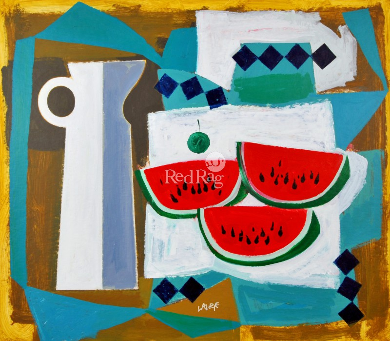 Simon LAURIE  RGI - Greek Melon and Jug