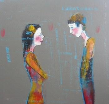 Scottish Artist Sophie McKAY-KNIGHT - Sorry