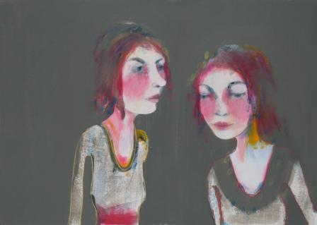 Scottish Artist Sophie McKAY-KNIGHT - Two Daughters