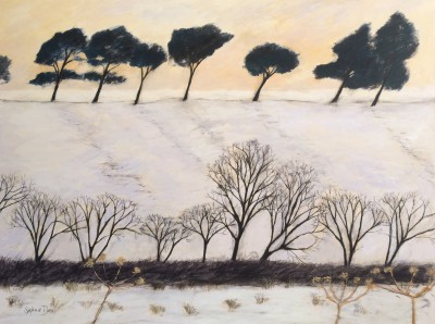 Scottish Artist Stephanie DEES - Snow Light