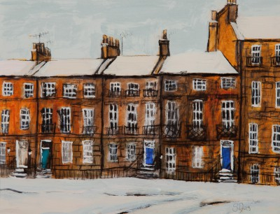 Scottish Artist Stephanie DEES - Nelson Street