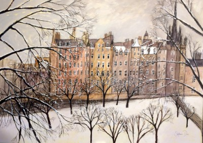 Scottish Artist Stephanie DEES - December Day