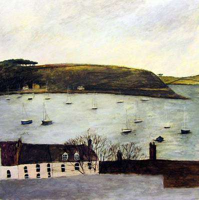 Scottish Artist Stephanie DEES - Falmouth at Dusk