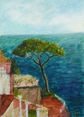 Scottish Artist Stephanie DEES - Italian Study