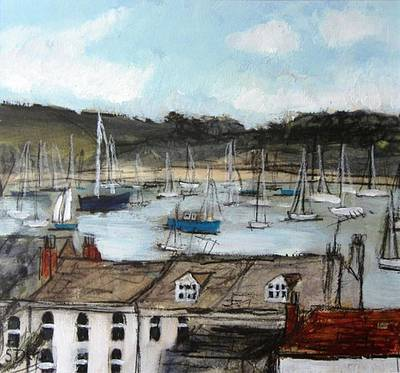 Scottish Artist Stephanie DEES - Summer, Falmouth