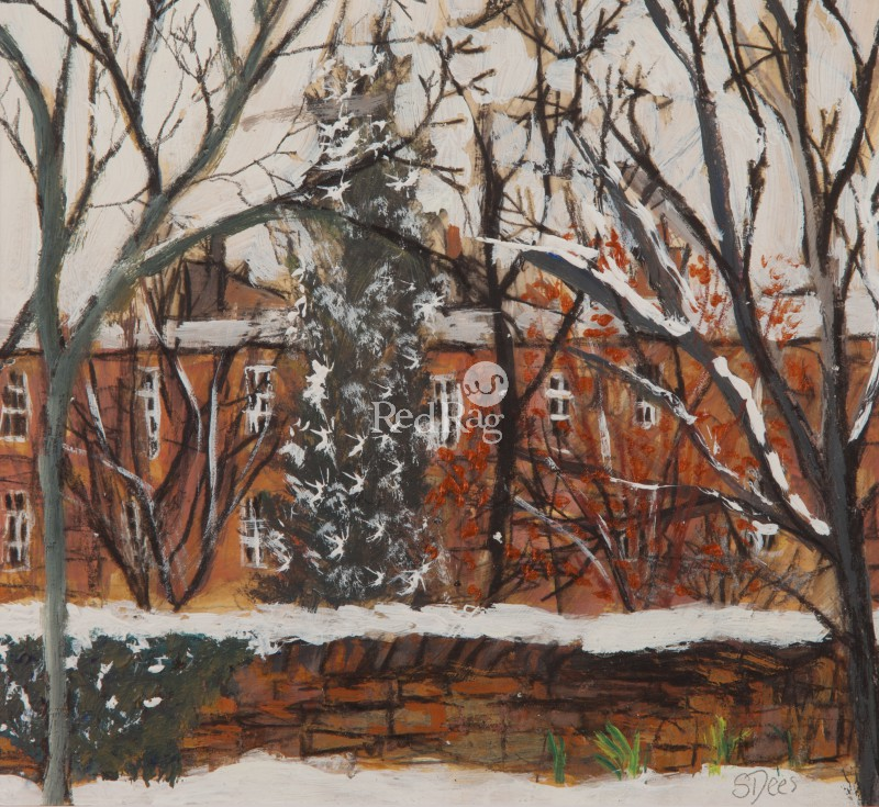 Stephanie DEES - City in Winter